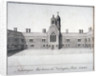 Fishmongers' Almshouses at St Peter's Hospital, Newington Butts, Southwark, London by