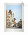 View of Meux's Brewery and a horse and cart in Clerkenwell Road, Finsbury, London by Anonymous