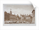 South-east view of Lambeth Palace from the churchyard, London by