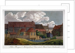 South-east view of John Bunyan's meeting house, Southwark, London by Anonymous