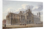 Westminster Abbey, London by John Coney