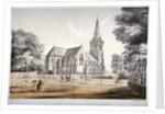The Church of St John of Jerusalem, Hackney, London by CJ Greenwood