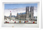 Westminster Abbey and St Margaret's Church, London by Anonymous