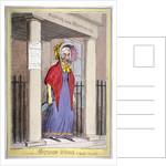 Mother Wood, the popular procuress! by Isaac Robert Cruikshank