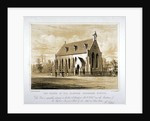The Chapel of the Clapham Grammar School, London by Anonymous