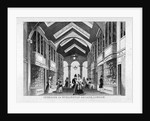 Interior of Burlington Arcade, Westminster, London by Anonymous