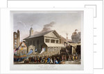 Covent Garden Market, Westminster, London by Augustus Charles Pugin