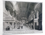 Interior of St Clement Danes Church, Westminster, London by