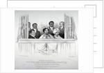 Members of the Hawaiian royal family at the Theatre Royal, Drury Lane, London by