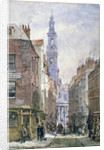 View of Drury Court from Wych Street, Westminster, London by Louise Rayner