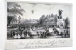 A fair held in Hyde Park during the coronation of Queen Victoria in 1838 by Anonymous