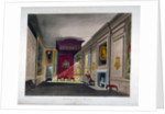 Interior view of St James's Palace, Westminster, London by