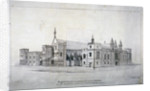 Suggestions for alterations to the buildings adjoining Westminster Hall, London by James Duffield Harding