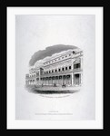 Vignette of the King's Theatre, Haymarket, London by