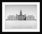 Elevation of the east front of Horse Guards, Westminster, London by John Vardy