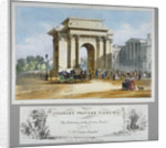 Hyde Park Corner, London by William Spooner