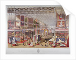 The Great Exhibition, Hyde Park, Westminster, London by William Simpson