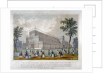 View of the building in Hyde Park for the Great Exhibition, 1851 by Anonymous