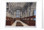 Interior view looking east, St James's Church, Piccadilly, London by