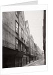 View of houses in Wych Street, Westminster, London by Society for Photographing the Relics of Old London