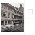 The George Inn, Borough High Street, Southwark, London by Henry Dixon