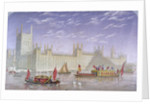 The Palace of Westminster, London by