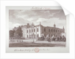 Chapel belonging to the Philanthropic Society Institution, London Road, Southwark, London by John Chessell Buckler