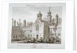 St Peter's Hospital, Southwark, London by John Chessell Buckler
