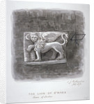 The Lion of St Mark, Tower of London by