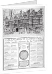 Staple Inn, London by William Monk