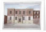 View of Borough Compter, a debtors' prison in Mill Lane, Bermondsey, London by G Yates