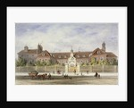 Grey Coat Hospital, Tothill Fields, Westminster, London by Thomas Hosmer Shepherd