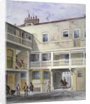 The Three Kings Inn on Piccadilly, Westminster, London by Thomas Hosmer Shepherd