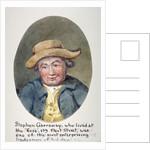 Stephen Garraway, tradesman of Fleet Street, London by Anonymous