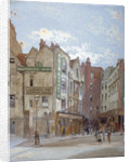 View of Woods Hotel, Portugal Street, Westminster, London by John Crowther