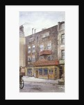 View of the Old Black Jack Inn, Portsmouth Street, Westminster, London by