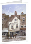 View of no 72 Cheyne Walk, Chelsea, London by John Crowther