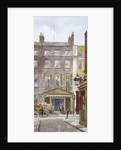 View of the New Royalty Theatre, Dean Street, Westminster, London by John Crowther