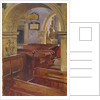 Interior view of All Saints Church, Chelsea, London by