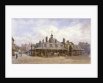 View of Oxford Market, St Marylebone, Westminster, London by