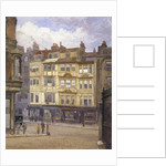 View of nos 164-165 Strand, Westminster, London by John Crowther