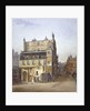 View of a house, Cecil Street, Westminster, London by John Crowther