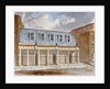 View of the Olympic Theatre, Wych Street, Westminster, London by Anonymous