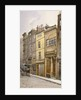 View of the parish clerk's hall, Silver Street, London by John Crowther