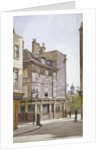 View of the Crooked Billet Inn, King Street, Stepney, London by