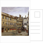 The George Inn, Borough High Street, Southwark, London by John Crowther