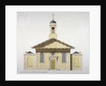 West elevation of the Church of St Paul, Covent Garden, London by Anonymous
