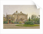 View of the front of Carroun House, South Lambeth Road, Lambeth, London by John Crowther