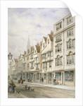 Wych Street, Westminster, London by Thomas Hosmer Shepherd