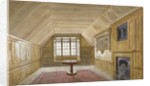 Interior of the Council Chamber in the White Tower, Tower of London, Stepney, London by John Crowther